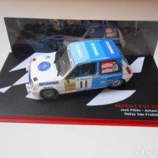 Model Cars - 2723 COCHE RENAULT 5 GT TURBO PIÑON PRATS RALLYE SAN FROILAN 1988 CAR 1/43 1:43 - 168165356