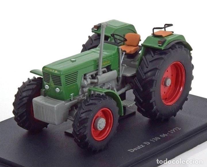 Deutz D130 06 1972 1:43 Tractor agrícola UH Hachette Diecast