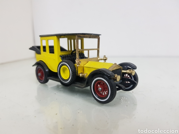 ROLLS ROYCE MATCHBOX MODELS OF YESTERYEAR AMARILLO Y NEGRO (Juguetes - Coches a Escala 1:43 Otras Marcas)