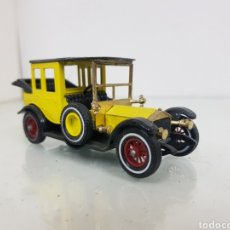 Coches a escala: ROLLS ROYCE MATCHBOX MODELS OF YESTERYEAR AMARILLO Y NEGRO. Lote 168589948