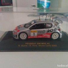 Coches a escala: PEUGEOT 206 WRC RALLY MONTE CARLO. Lote 169096652