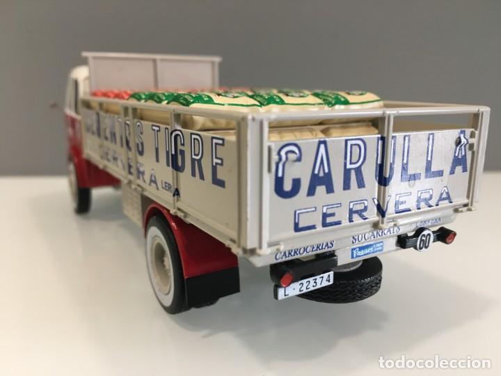 Coches a escala: Camión PEGASO 1031- CEMENTOS TIGRE (1960) con matrícula de Lerida. Escala 1/43 - Foto 7 - 190577843