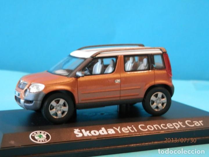 SKODA YETI CONCEPT CAR--SCHUCO--1/43- LUGOY (Juguetes - Coches a Escala 1:43 Otras Marcas)