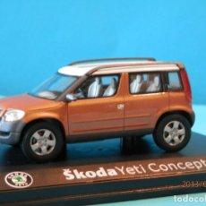 Voitures à l'échelle: SKODA YETI CONCEPT CAR--SCHUCO--1/43- LUGOY. Lote 169996444