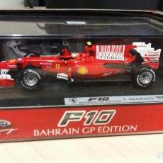 Carros em escala: FERRARI F10 BAHRAIN GP EDITION - FERNANDO ALONSO - COCHE A ESCALA 1:43. ( FORMULA 1 / F1 / F-1 ). Lote 170077412