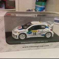 Coches a escala: PEUGEOT 206 WRC RALLY MONTE CARLO. Lote 170311108