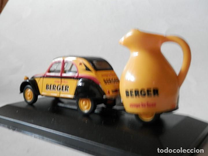 Coches a escala: CITROEN 2 CV REMOLQUE BERGER-1/43- LUGOY - Foto 4 - 171051298