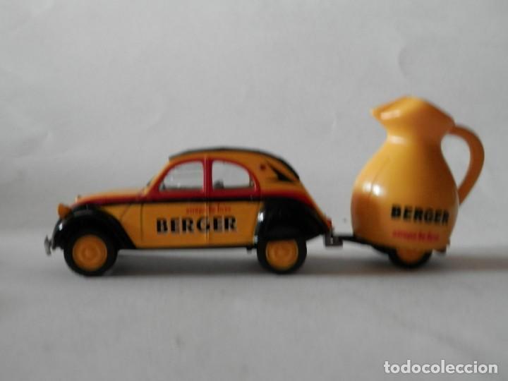 Coches a escala: CITROEN 2 CV REMOLQUE BERGER-1/43- LUGOY - Foto 6 - 171051298
