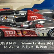 Coches a escala: COCHE AUDI R10 WINNER LE MANS 2007. Lote 171412135