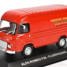 Coches a escala: ALFA ROMEO F20 FLORPAGANO 1979 FURGONETA 1:43 DIECAST COCHE ATLAS. Lote 179245880