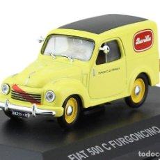 Voitures à l'échelle: FIAT 500 C FURGONCINO BARILLA 1951 FURGONETA 1:43 DIECAST COCHE ATLAS. Lote 171515288
