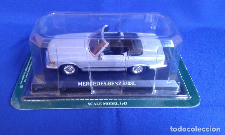 Coches a escala: MERCEDES-BENZ 350SL - ESCALA 1:43 - Foto 1 - 171638300