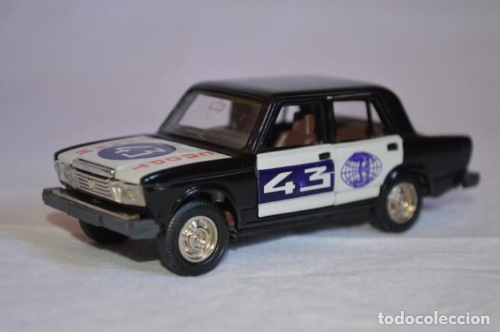 Coches a escala: Lada BA3-2107 Rally. Novoexport. Esc. 1/43. Made in URSS. romanjuguetesymas. - Foto 3 - 172689128
