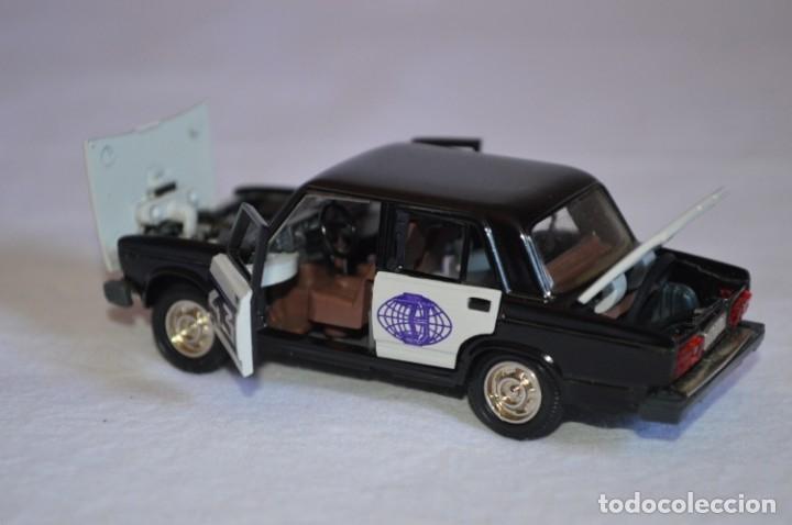 Coches a escala: Lada BA3-2107 Rally. Novoexport. Esc. 1/43. Made in URSS. romanjuguetesymas. - Foto 6 - 172689128