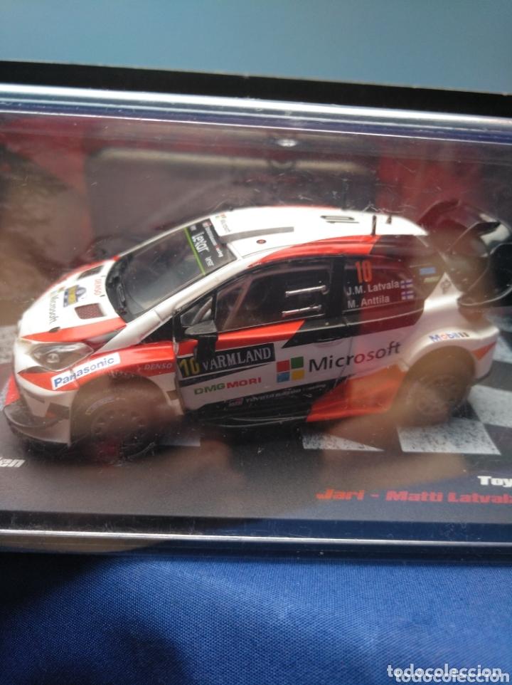 Coches a escala: TOYOTA YARIS WRC DEL RALLY DE SUECIA 2017, DE IXO PARA ALTAYA 1/43. - Foto 4 - 172739680