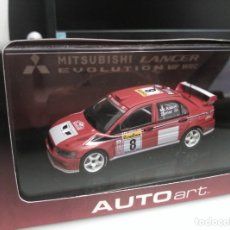 Coches a escala: MITSUBISHI LANCER WRC RALLY MONTE CARLO. Lote 172977878