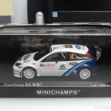 Coches a escala: FORD FOCUS WRC RALLY MONTE CARLO. Lote 172977987