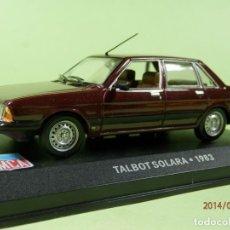 Coches a escala: TALBOT SOLARA 1983--ALTAYA-1/43- LUGOY. Lote 173078340