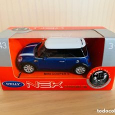 Coches a escala: MINI COOPER S WELLY NEX 1:43. Lote 173543252