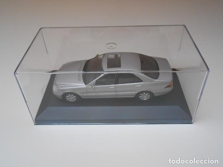 Coches a escala: 2898 COCHE MERCEDES S 500 S500 MODEL CAR 1/43 1:43 MINIATURE alfreedom MINIATURA - Foto 2 - 173802228
