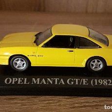 Coches a escala: OPEL MANTA GT/E 1982. COLECCIÓN ALTAYA. Lote 173931312