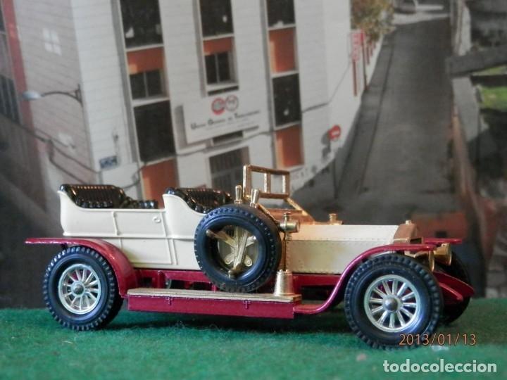 Coches a escala: ROLLS ROYCE SILVER GHOST 1905-MATCHBOX ----1/43-LUGOY - Foto 4 - 174095205