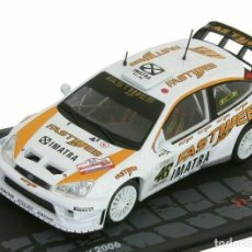 Auto in scala: FORD FOCUS RS WRC VALENTINO ROSSI MONZA RALLY SHOW 2006 1:43 EAGLEMOSS DIECAST. Lote 213827185