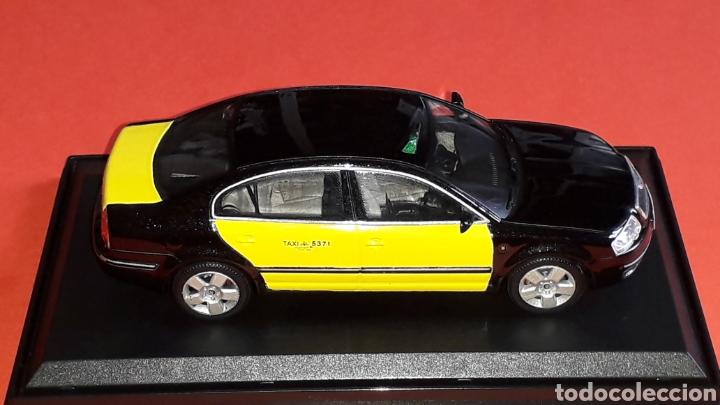 Coches a escala: Skoda Superb Taxi Barcelona, metal esc. 1/43, Kit Car 43, base Abrex. Impecable - Foto 5 - 175318704