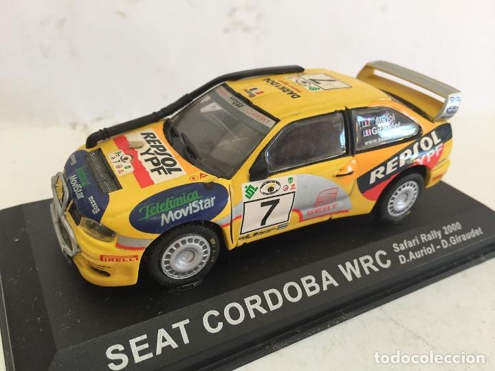 SEAT CORDOBA WRC 2000 AURIOL SAFARY RALLY 1:43 ALTAYA DIECAST COCHE ** (Juguetes - Coches a Escala 1:43 Otras Marcas)