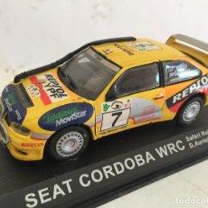 Coches a escala: SEAT CORDOBA WRC 2000 AURIOL SAFARY RALLY 1:43 ALTAYA DIECAST COCHE **. Lote 175370823