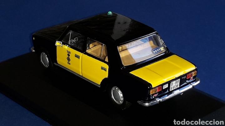 Coches a escala: Seat 124 Taxi Barcelona, metal esc. 1/43, Kit Car 43, base Fiat Ixo DeA. Impecable - Foto 4 - 175669907
