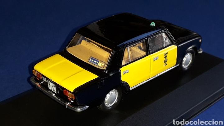 Coches a escala: Seat 124 Taxi Barcelona, metal esc. 1/43, Kit Car 43, base Fiat Ixo DeA. Impecable - Foto 5 - 175669907