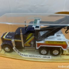 Coches a escala: GUISVAL CAMION KENWORTH GRUA. Lote 175714515
