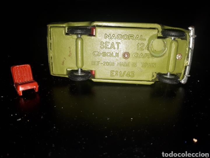 Coches a escala: Antiguo seat 124 NACORAL 1:43 CHIQUI CARS - Foto 5 - 175736208