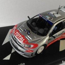 Coches a escala: PEUGEOT 206 WRC RALLY DE FINLANDIA 2002. Lote 176093528