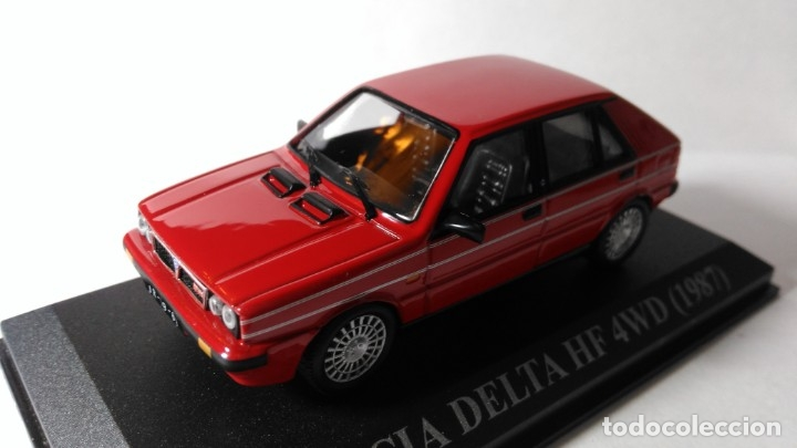 LANCIA DELTA HF 4WD 1987 (Juguetes - Coches a Escala 1:43 Otras Marcas)