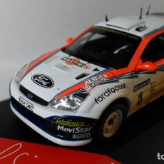 Coches a escala: FORD FOCUS WRC 2002 RAC RALLY CARLOS SAINZ. Lote 176362680