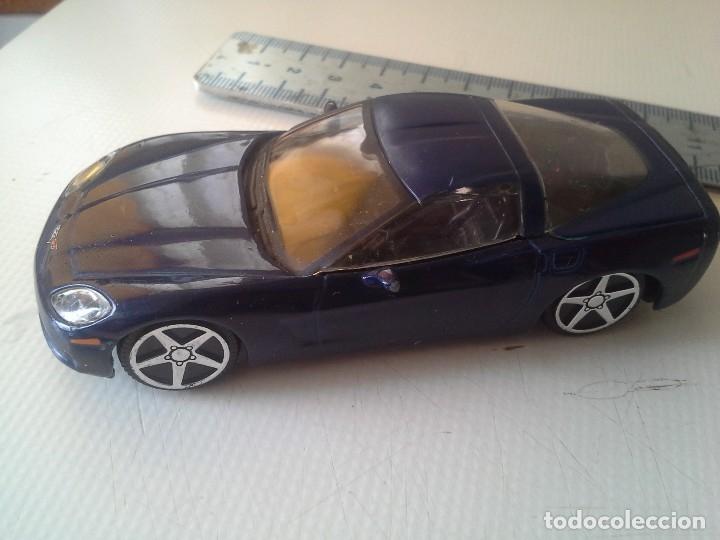 Coches a escala: coche chevrolet corvette 2004 burago azul - Foto 3 - 176609735