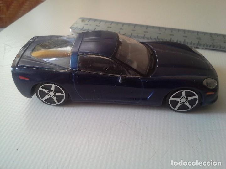 Coches a escala: coche chevrolet corvette 2004 burago azul - Foto 5 - 176609735