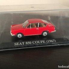 Coches a escala: SEAT 850 COUPE 1967 - ALTAYA COLECCION COCHES INOLVIDABLES ESCALA 1/43. Lote 176781292