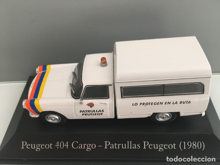 Coches a escala: COCHE PEUGEOT 404 CARGO. 1980. ESCALA 1/43 - Foto 8 - 226828705