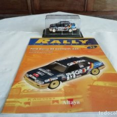 Coches a escala: ALTAYA 1/43 FORD SIERRA RS COSWORTH 4X4 MONTECARLO 1991 DELECOUR PAUWELS NUEVO FASCÍCULO. Lote 176923769