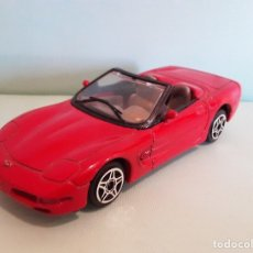 Coches a escala: CHEVROLET CORVETTE BURAGO MADE IN ITALY COCHE A ESCALA 1/43. Lote 177187873