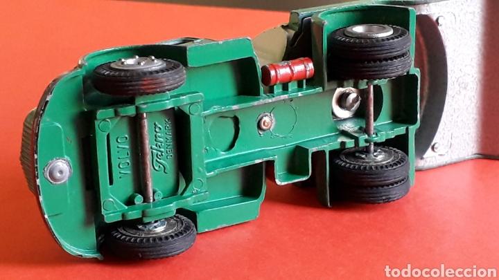 Coches a escala: Camión Volvo cisterna BP ref. 434, metal esc. 1/43 *1/50*, Tekno made in Denmark, original años 60. - Foto 7 - 177645865