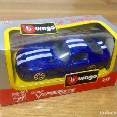 Coches a escala: DODGE VIPER GTS COUPE BURAGO. Lote 177859108