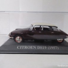 Coches a escala: CITROEN DS19(1957) 1/43 ALTAYA IXO. Lote 178142712
