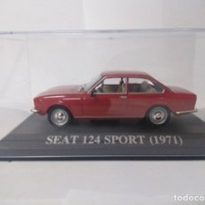 Coches a escala: SEAT 124 SPORTS (1971) 1/43 ALTAYA IXO. Lote 178189998