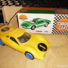 Coches a escala: CHIQUI CARS NACORAL FERRARI DINO. Lote 178333180