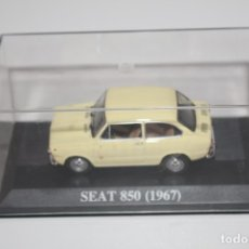 Coches a escala: COCHE CLASICO SEAT 850 ( 1967) ALTAYA ESCALA 1/43. Lote 178556777
