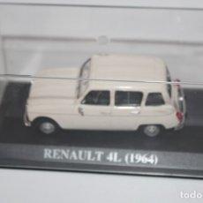 Coches a escala: COCHE CLASICO RENAULT 4L( 1964) ALTAYA ESCALA 1/43. Lote 178557035
